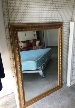 Gold mirror for Sale in Apex, NC