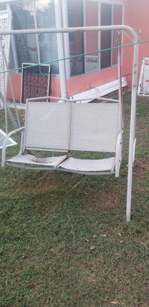 2 people porch swing for Sale in Saint Petersburg, FL