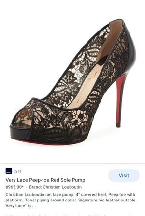 CHRISTIAN LOUBOUTIN HEELS for Sale in Redwood City, CA