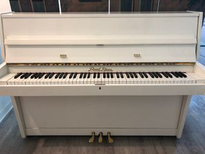 Pearl river. Upright. Piano. High. Gloss. White. for Sale in Oceanside, CA
