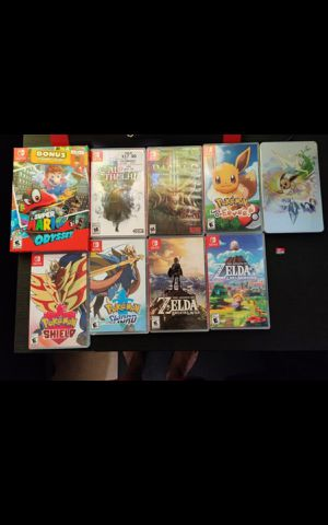 Nintendo switch games for Sale in City of Industry, CA