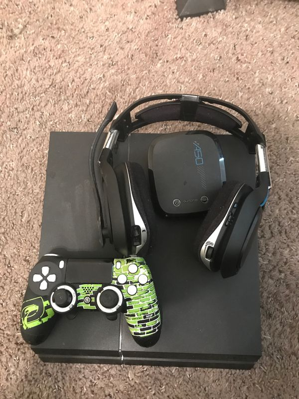 Ps4 & scuf controller & Astro a50 headset
