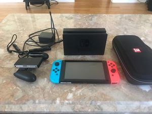 Nintendo Switch With Case and Super Smash Bro's for Sale in Davenport, FL
