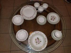 Floral designed dish set for Sale in Miramar, FL