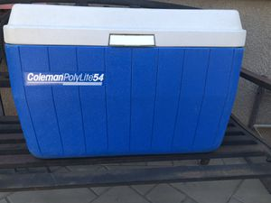 Blue Coleman Cooler for Sale in Lathrop, CA