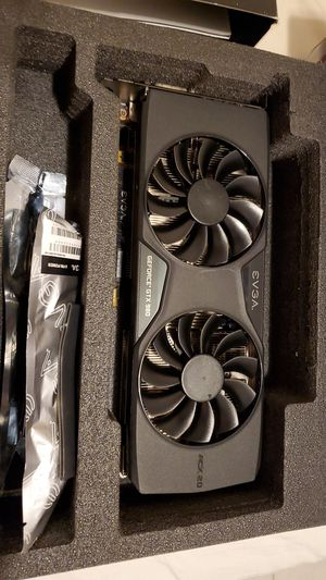 EVGA GeForce GTX 980 4GB SC GAMING ACX 2.0 Graphics Card. for Sale in St. Petersburg, FL