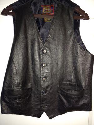 Vest, leather, size large for Sale in Jackson Township, NJ