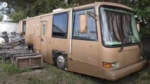 Old RV camper 12v Diesel Allison runs needs battery's $2500 for Sale in Winter Haven, FL