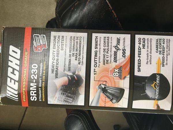 Echo SRM-230 grass trimmer for Sale in Sacramento, CA - OfferUp