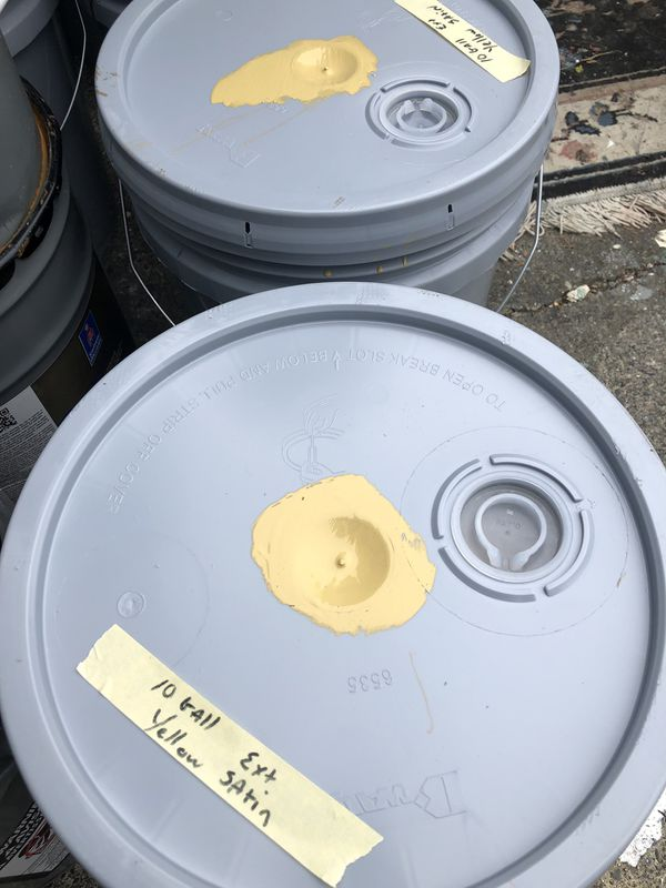 15 gallons exterior paint