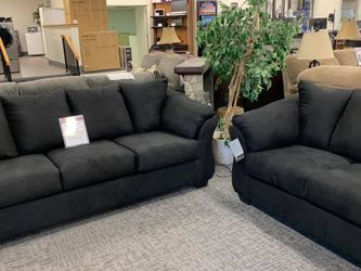 Darcy Black Living Room Set ↗️$39 Down Payment 100 Days Same As Cash for Sale in Austin,  TX