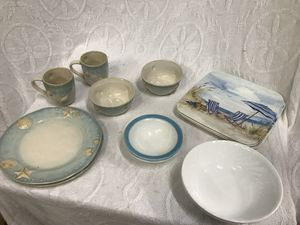 Nautical Theme Dinnerware Lot for Sale in Raleigh, NC
