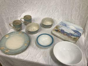Nautical/Beach Theme Dinnerware Lot for Sale in Raleigh, NC