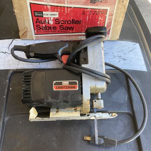 Craftsman Scroll Saw for Sale in Fort Myers, FL
