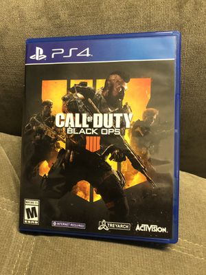 Call of duty (BlackOps) - PS4 for Sale in Rockville, MD