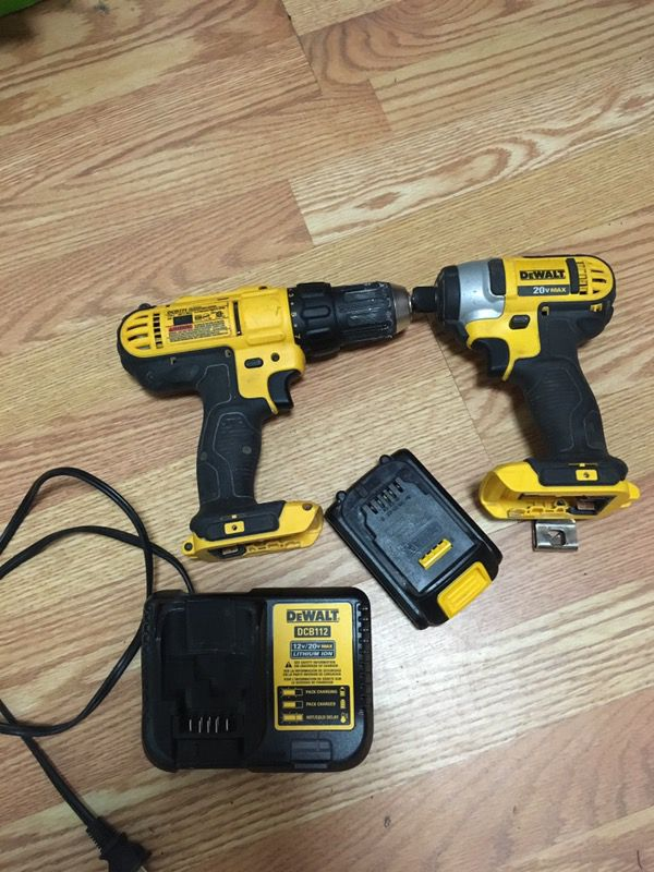 20 v drill and impact drill