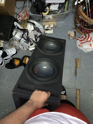 """Alpine type Rs two 10"""" subwoofer for Sale in New York, NY"""