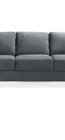"""78.75"""" Micro suede couch for Sale in Tigard,  OR"""