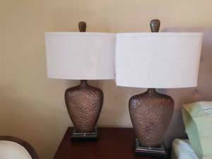 Table lamps set of 4 for Sale in Hialeah, FL