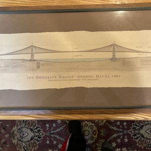 Brooklyn Bridge Frame for Sale in Bolingbrook, IL