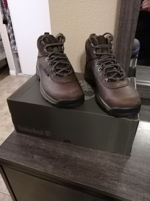 Brand new timberland work boots. Soft toe. Size 7, 11.5, and 12 for Sale in Riverside, CA