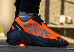 Adidas Yeezy Boost 700 MNVN Orange Men's Size 10 for Sale in Torrance, CA