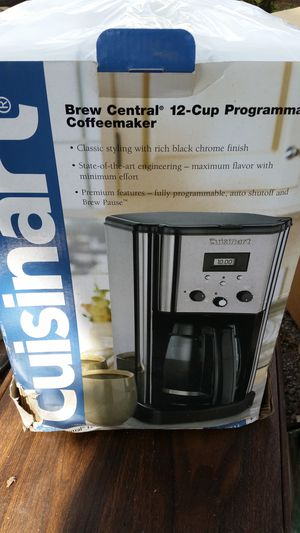 12 cup Cuisinart coffeemaker for Sale in Beaumont, TX