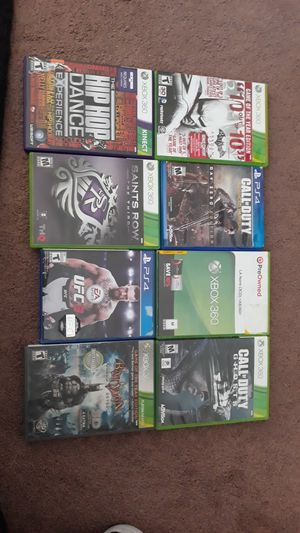 Ps4 and xbox 360 games for Sale in Chula Vista, CA