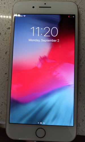 iPhone 8 plus 256 gig for Sale in Peoria, AZ