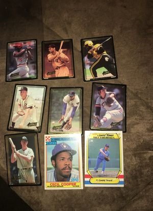Vintage set of action-packed baseball cards 1980s for Sale in Sweet Home, OR