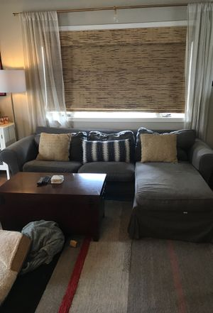 IKEA gray sectional for Sale in Seattle, WA