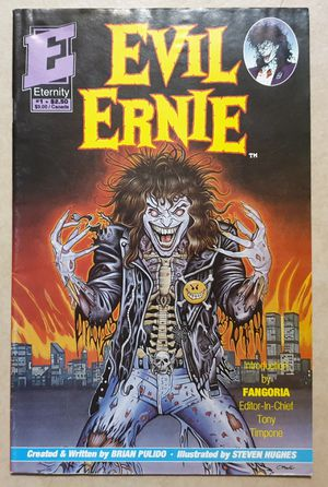 EVIL ERNIE # 1 . ETERNITY COMICS 1991. FIRST APPEARANCE: EVIL ERNIE & LADY DEATH. BAGGED & BOARDED. for Sale in Las Vegas, NV
