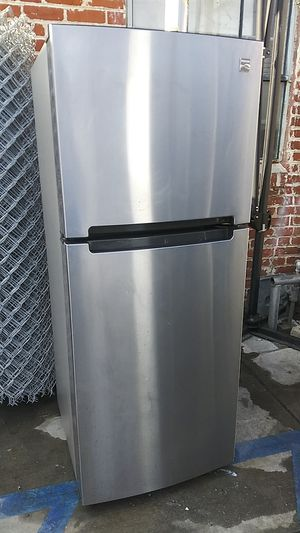 Kenmore Stainless steel Medium Size Top Bottom Refrigerator for Sale in Lake Forest, CA