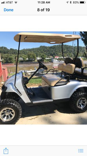 2015 EZ GO 48 volt lifted golf cart for Sale in Hurricane, WV