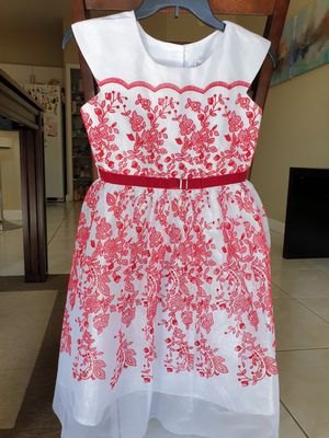 Christmas Party Birthday Flower Girl dress. Size 12. for Sale in Miami, FL