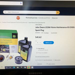John Deere Home Maintenance Kit LG266 For D Series Lawn Tractors for Sale in Ipswich, MA