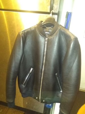 Diesel leather jacket brand new for Sale in Washington, DC