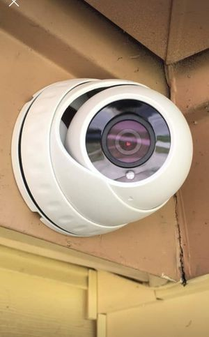 2 1080p Security cameras with instalation.. hablo espanol for Sale in Fort Worth, TX