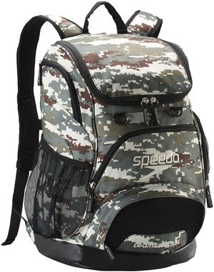 Unisex-Adult Large Teamster Backpack 35-Liter Equipment Bag Camo/Brown/Beige for Sale in Los Angeles, CA