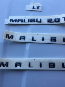 Malibu Black Emblems for Sale in Citrus Springs,  FL