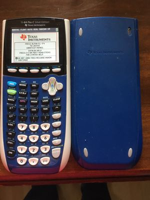 Blue TI-84 plus C rechargeable graphing calculator for Sale in Wylie, TX