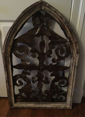 Decorative metal & wood art for Sale in McLean, VA