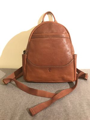 Authentic Frye Mini Backpack - Cognac Brown for Sale in Silver Spring, MD