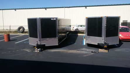 VNOSE ENCLOSED TRAILERS NEW 20FT 24FT 28FT 32FT SIDE BY SIDE RACE CAR BIKE ATV UTV SLED MOTORCYCLE HAULER MOVING STORAGE for Sale in Fort Worth,  TX