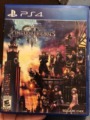 Kingdom Hearts III (PS4) for Sale in Las Vegas, NV