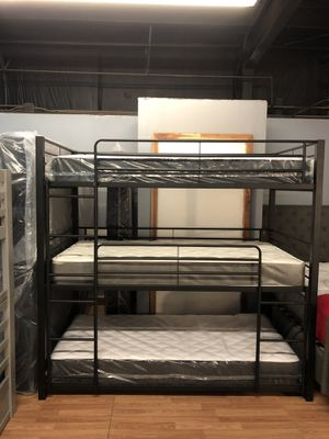 Triple Stack Bunk Beds !!!!!! for Sale in Siloam Springs, AR