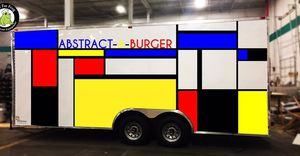 Burger food trailer. Equipment hood for Sale in Jacksonville, FL