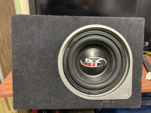 """Rockford fosgate 12"""" punch subwoofer and amp for Sale in Fountain, CO"""