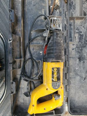 Dewalt sawzaw reciprocating corded power for Sale in Modesto, CA