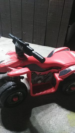 Yamaha ride on kids quad motorcycle for Sale in Fullerton, CA